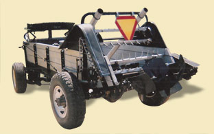 Hot Rod Manure Spreader